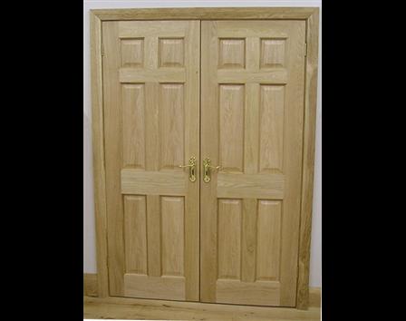 6 Panel Internal Oak Door