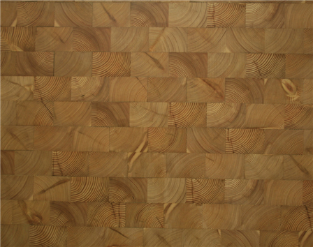Siberian Larch End Grain