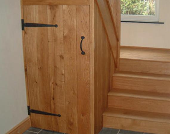 Oak Plank Cupboard Doors