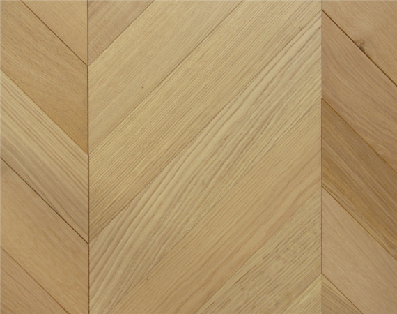 Nude Oak Chevron Flooring