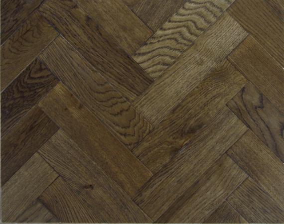 Dark Oak Parquet Flooring