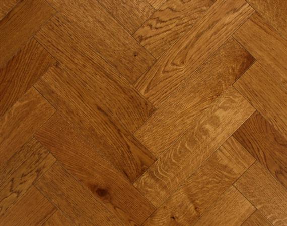 Rich Oak Parquet Flooring