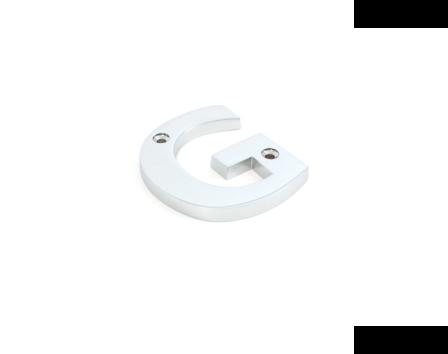 Polished Chrome Letter G