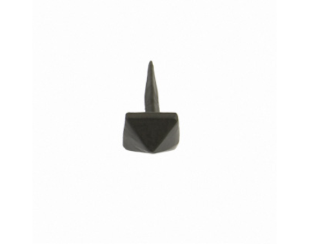 Black Pyramid Door Stud - Small