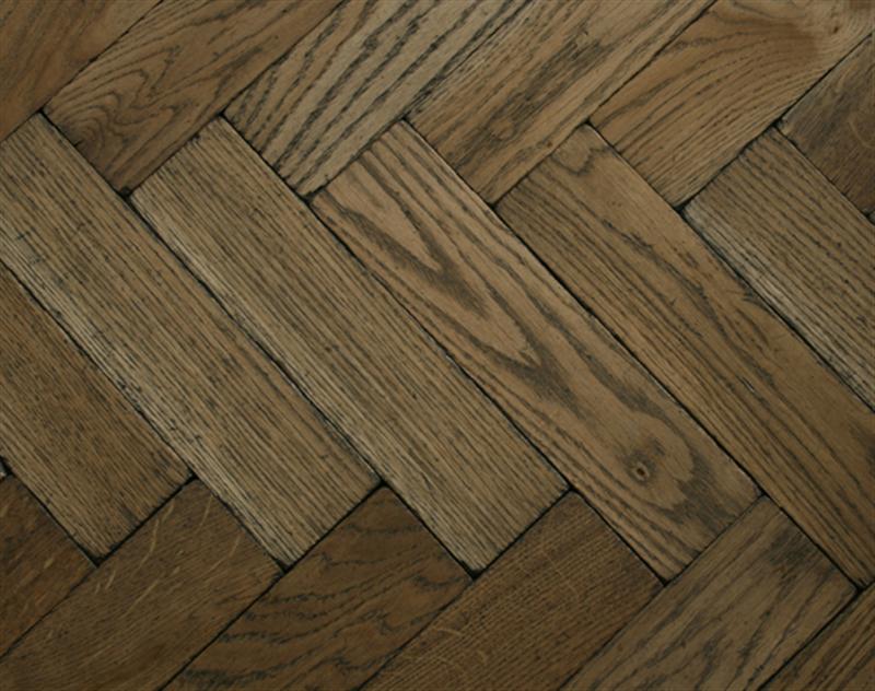worn vintage oak parquet flooring original vintage