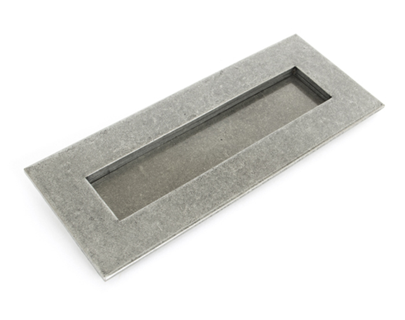 pewter small letterplate - Letter Box Covers