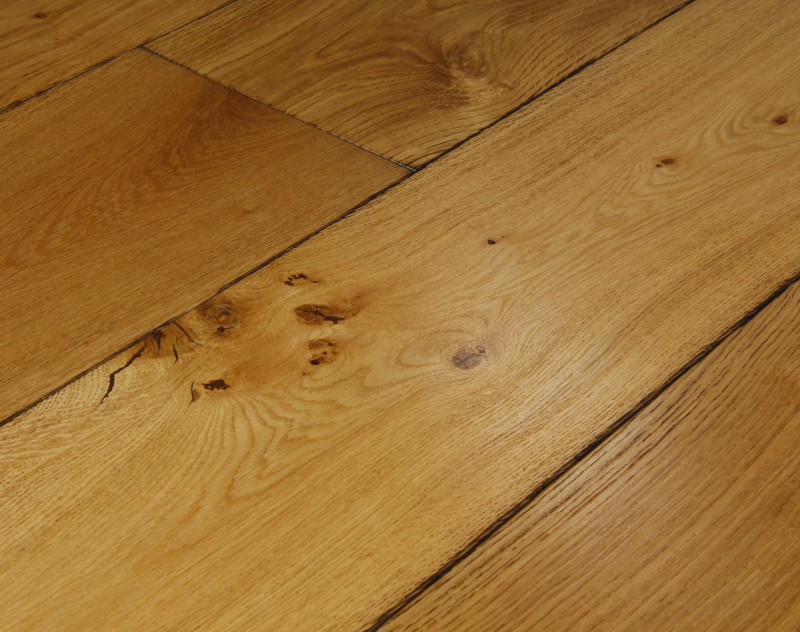 Clasico light oak flooring brushed burned oak flooring for Lightweight flooring