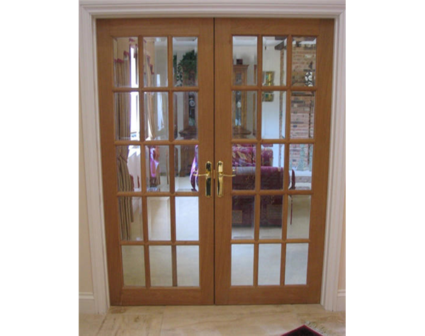 15 Panel Glazed Internal Oak Door Internal Panelled Doors