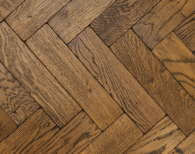 Rich Vintage Oak Parquet Flooring