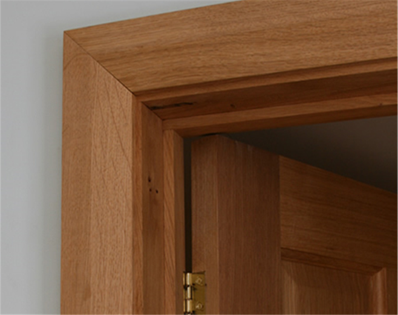Chamfered oak architrave oak architrave for Door architrave