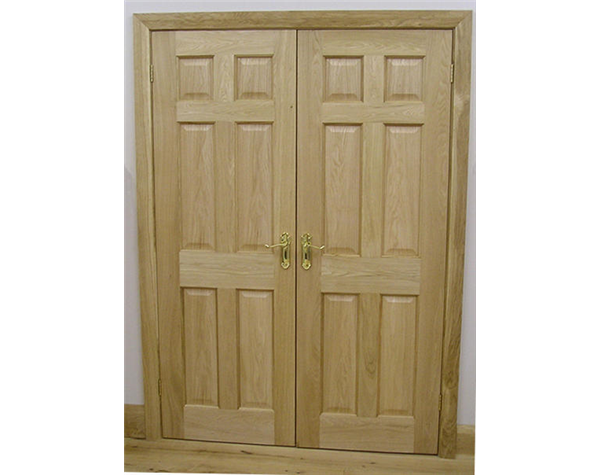 6 Panel Internal Oak Door  sc 1 st  Broadleaf Timber & 6 Panel Internal Oak Door | Internal Panelled Doors