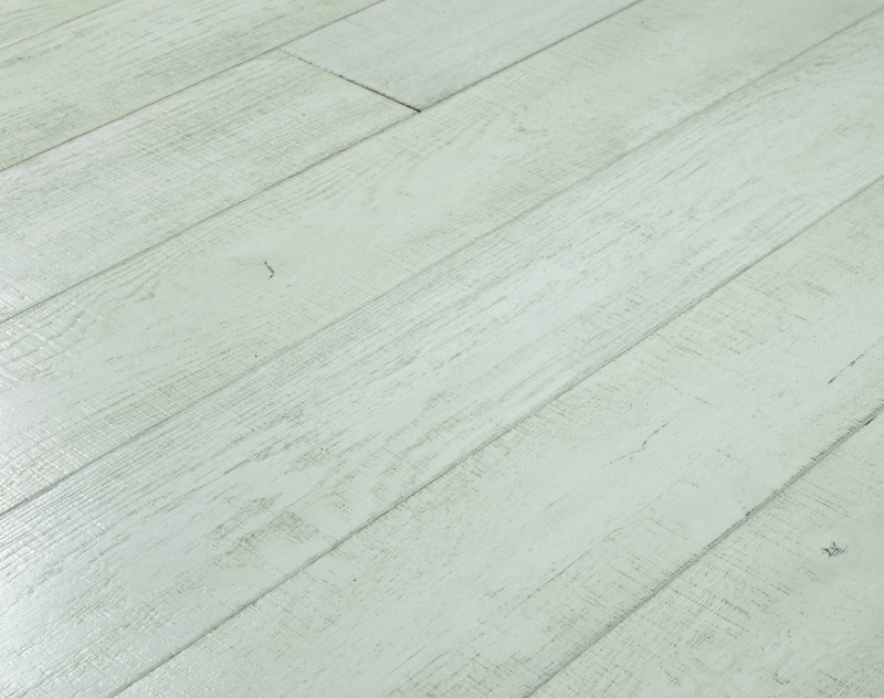 Waterville Oak Flooring Painted